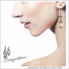 clip earrings for women avail as pierced crazy4clipons