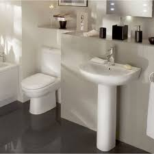 Simple Bathroom Ideas by Small Simple Bathroom With Sink And Toilet Stock Photo Image