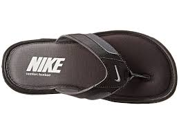 perfect mens nike comfort thong black metallic silver dark grey uk