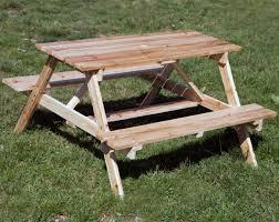 best kids picnic table plans