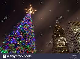 christmas tree downtown christmas lights decoration