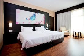 Twin Bed Hotel by Penang Accommodation Vouk Hotel Suites Vouk Suites At Mansion One