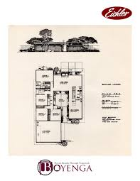 Atrium Ranch Floor Plans Eichler Floor Plans Images Flooring Decoration Ideas