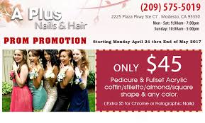 coupon nail salon modesto nail salon 95350 a plus nails