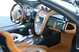 pagani interior dashboard the gold standard