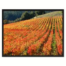 wine country landscape photo wall art home décor frame u2013 spotcolorart