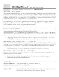 Resume For A Job Example Sample Resume For Architecture Student Resume For Your Job