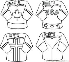 hockey coloring pages nhl u2013 world of craft