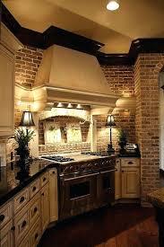 Brick Kitchen Ideas Brick Kitchen Painting Faux Brick In Kitchen Brick Kitchen