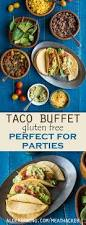 Gluten Free Buffet by Ground Beef Taco Recipe Buffet And How To Make Taco Shells