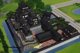 minecraft castle floor plans mod the sims japanese style castle chi bu