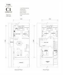 Corner Lot Floor Plans by Persada Bandar Bukit Raja Our Developments Property