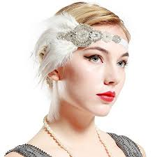 1920s hair accessories babeyond 1920s flapper headpiece roaring 20s great gatsby headband