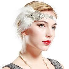 great gatsby hair accessories babeyond 1920s flapper headpiece roaring 20s great gatsby headband