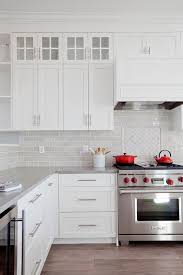 Grey Kitchen Backsplash Gray Mini Glass Kitchen Backsplash Tiles Design Ideas