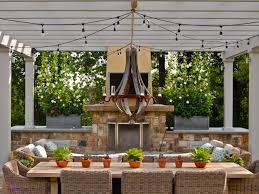 Outdoor Chandelier Diy 25 Gorgeous Outdoor Chandeliers Hgtv S Decorating Design