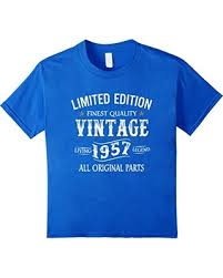 gifts for 60 year bargains on kids 1957 t shirt 60th birthday gifts 60 year b