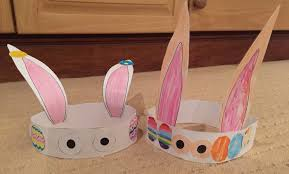 easter bunny hat printable easter egg and bunny hat with