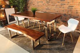 Acacia Wood Dining Room Furniture Enjoy A Meal With Acacia Wood Dining Table Beblincanto Tables