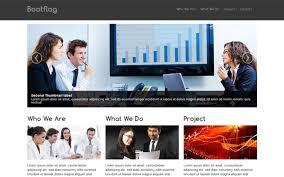 bootflag company profile bootstrap business corporate
