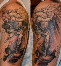vs demons half sleeve