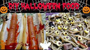 halloween food ideas bloody dog finger u0026 eyeball squid