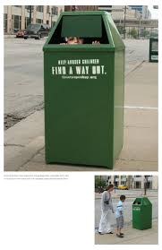ambient advert by trash can ads of the world
