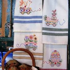 Kitchen Towel Embroidery Designs Machine Embroider A Set Of Towel Designs Specially Designed For