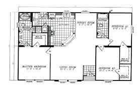 Mobile Home Floor Plans by Manufactured Home Floor Plan 2008 Karsten Cl 250a 94cls30503ah08