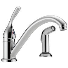 Touch Sensitive Kitchen Faucet by 175 Dst Single Handle Kitchen Faucet With Spray