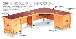 Woodworking Plans Computer Desk Free Computer Desk Plans Corner Woodworking With Hutch