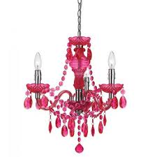 Pink Chandelier Light Beautiful Pink Chandelier For Girls Rooms Home Furniture