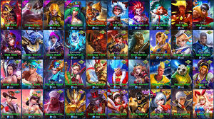 Mobile Legends Mobile Legends All Skins Ios Android