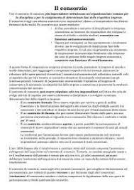 dispense diritto commerciale cobasso dispensa sui consorzi diritto commerciale cobasso docsity