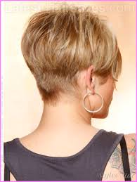 short hair back images haircut styles for short hair back and front stylesstar com