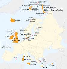 größte stadt deutschlands fläche liste europäischer inseln nach fläche