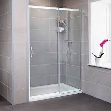 1500 Shower Door Aquafloe Iris 8mm 1500 Sliding Shower Door