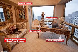 trumps home in trump tower donald trump s 100m new york city penthouse in pictures daily