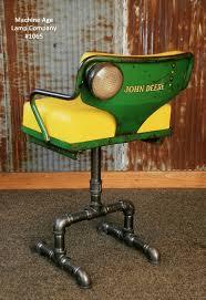 bar stool desk chair steunk industrial antique john deere tractor farm chair chairs bar