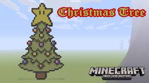minecraft pixel art tutorial and showcase mario themed christmas