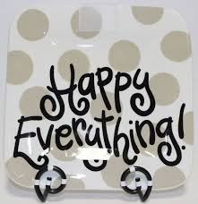 happy everything plate coton colors neutral dot happy everything 9 25 mini platter