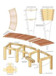 Firepit Benches Pit Bench Plans 3 Pinterest Bench Plans Bench And