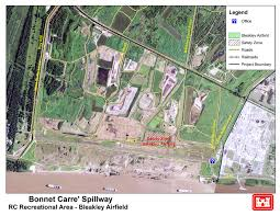 New Orleans Safety Map by New Orleans District U003e Missions U003e Recreation U003e Bonnet Carre U0027 Spillway