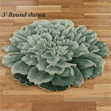 Round Flower Rug by Floors U0026 Rugs Green Floral Circle Rugs For Contemporary Interior
