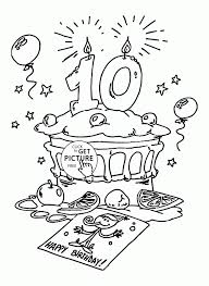 happy birthday coloring card best happy birthday coloring pages to print photos podhelp info