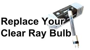 replace jacuzzi clearray uv bulb youtube