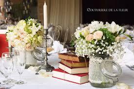 livre sur le mariage idées pour un joli mariage sur le thème des livres