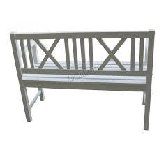 bench garden bench white sunnydaze person cast aluminum classic