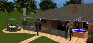 Arlington Covered Patios Archadeck Of Fort Worth TX House - Backyard patio cover designs