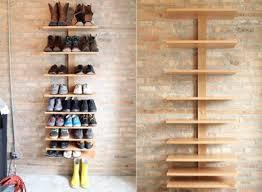 Wood Storage Shelf Design by Design Ideas Unusual Shoe Storage Ideas Utilizing Wooden Rack